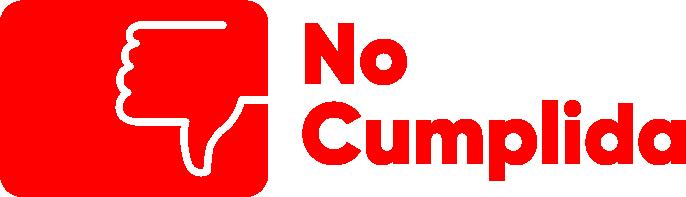 No cumplida