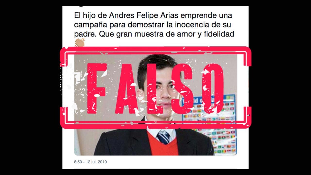 No No Es El Hijo De Andres Felipe Arias Es Jordi El Nino Polla