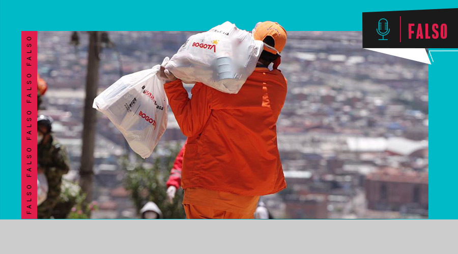 Alcaldía de Bogotá no ha entregado '1,7 millones de mercados', como dijo Claudia López   ColombiaCheck