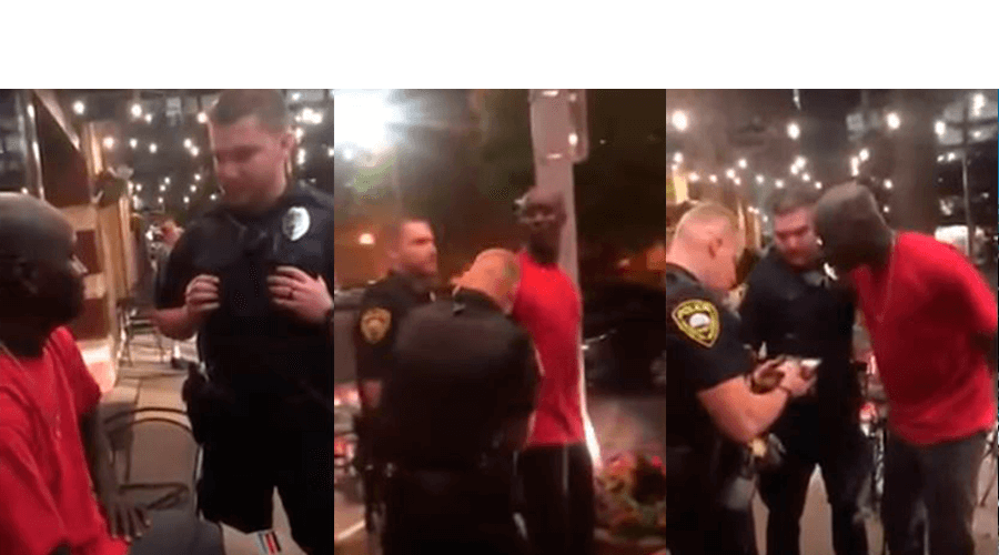 tasas de arresto de policías negros
